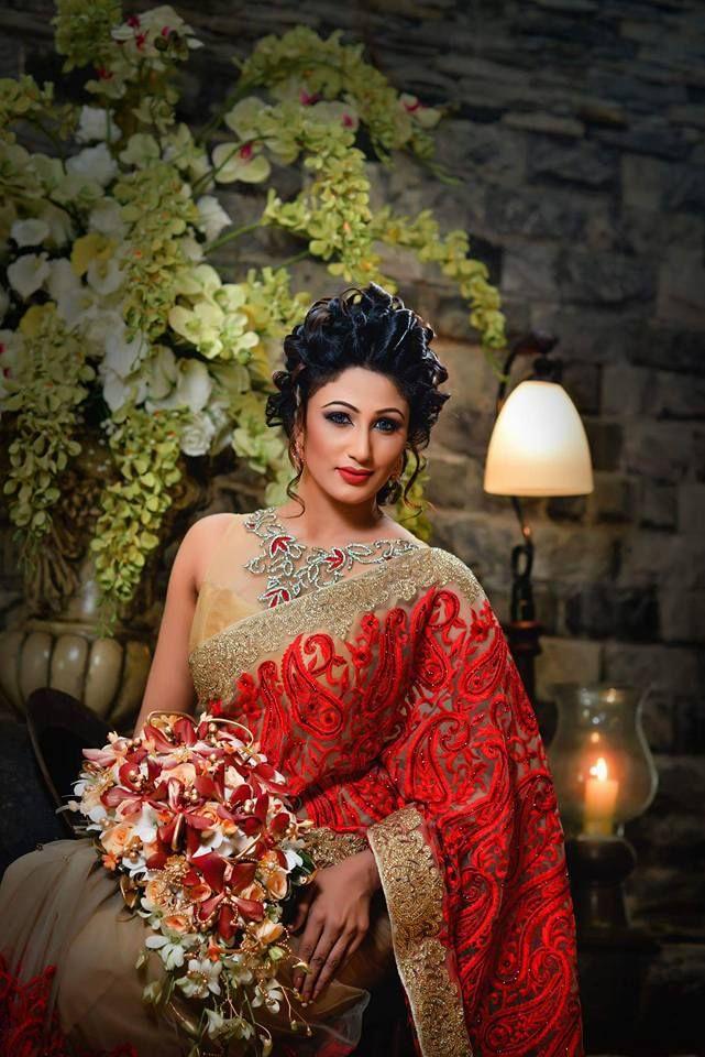 Dressed By Manjula Handapangoda Model Sasani Ramesha