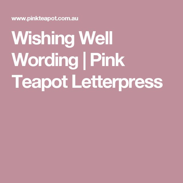 17 Best Ideas About Wishing Well Poems On Pinterest Wishing Well Wedding Weddings And Wedding
