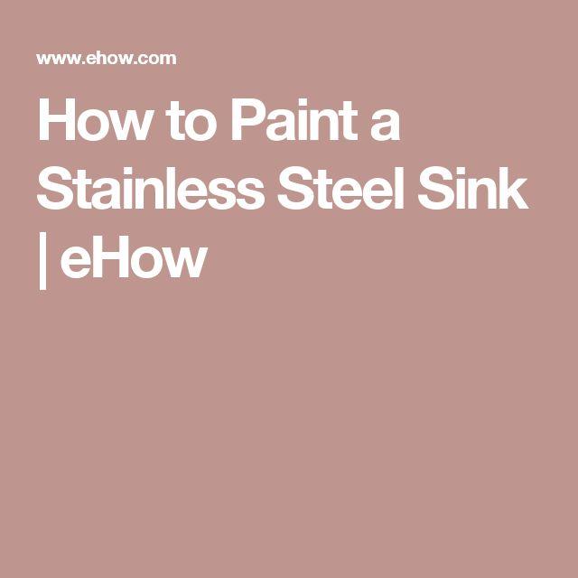 10 Best Ideas About Stainless Steel Sinks On Pinterest