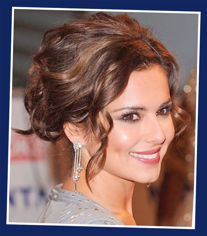 Loose Curly Updo Wedding Hairstyles Pinterest