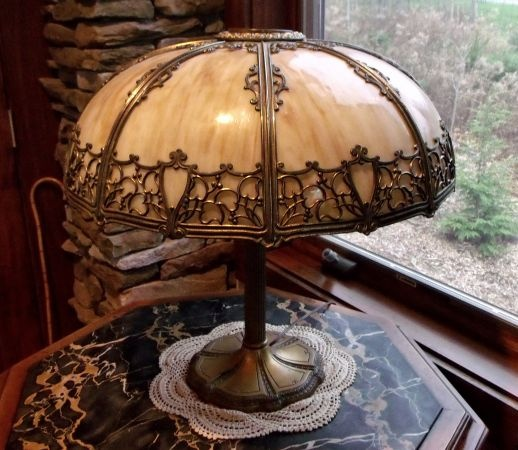 Victorian Slag Glass Lampbase Slag Glass Light Pinterest Lamp Bases Victorian And Glasses
