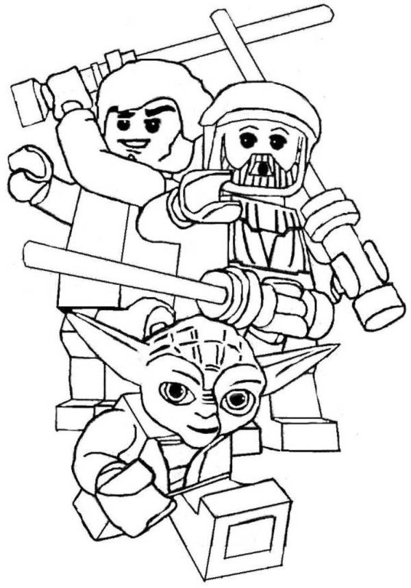star wars printable coloring pages lego  lego omalovánky