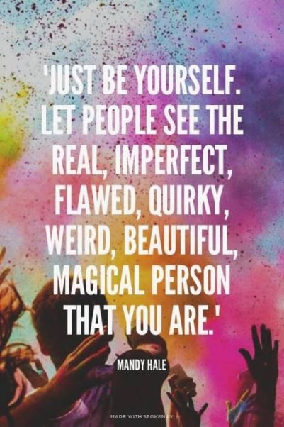 """Relax. You don't want to be """"normal"""" all the time. Especially not when you are beautiful just as you are. - ADD freeSources on Pinterest:"""