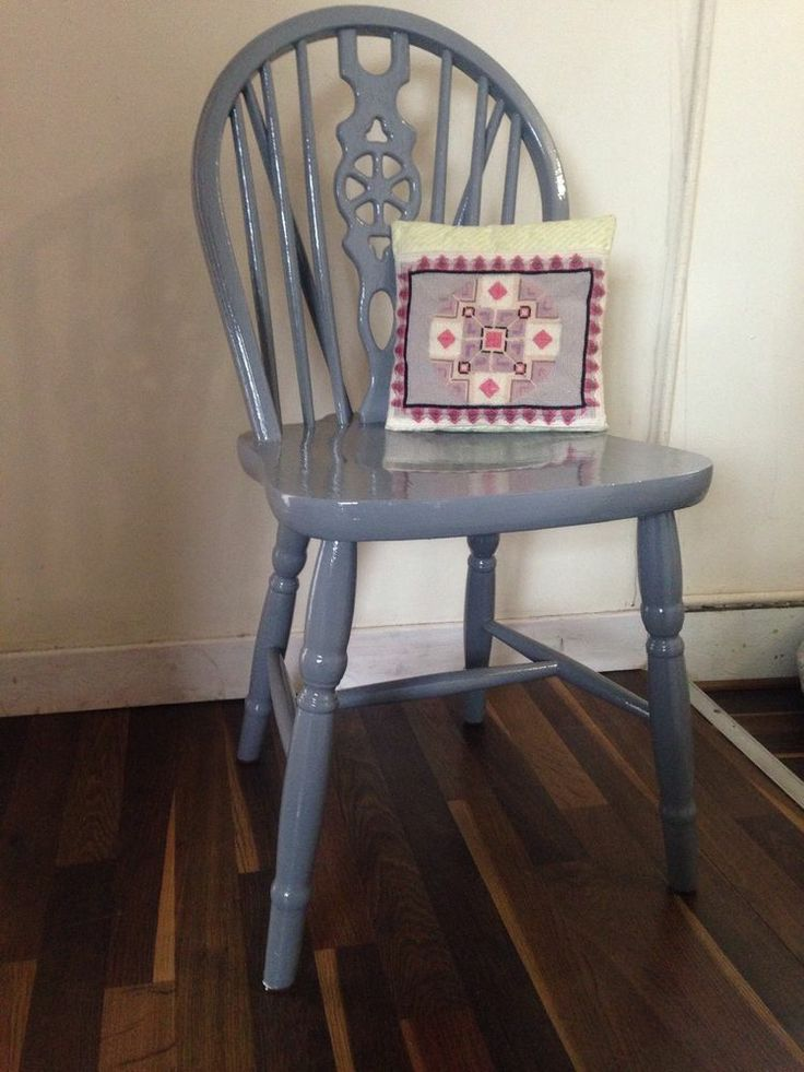 Wooden Wheel Back Chair Upcycled Diy Craft Projects
