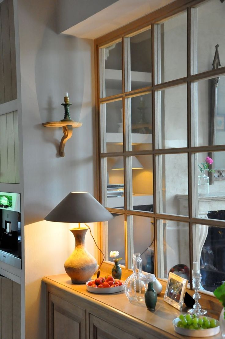 from the home of Greet Lefvre of the Belgian Pearls blog-love windows inside the