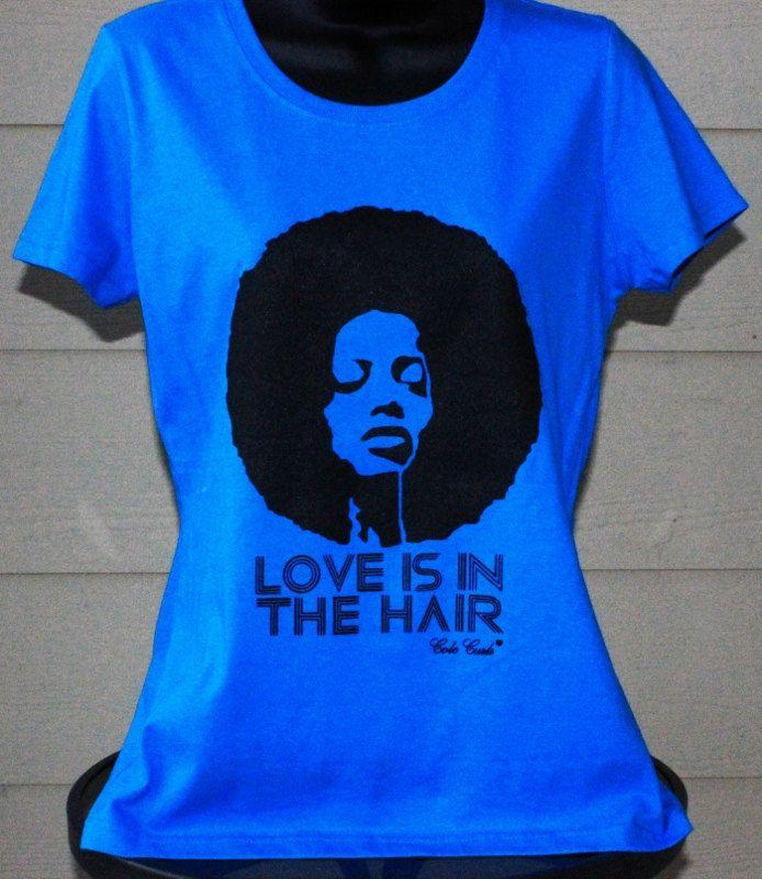 Rhinestones T Natural Hair Shirts