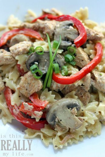 Cajun chicken pasta–a family fave – is this REALLY my life? | is this REALLY my