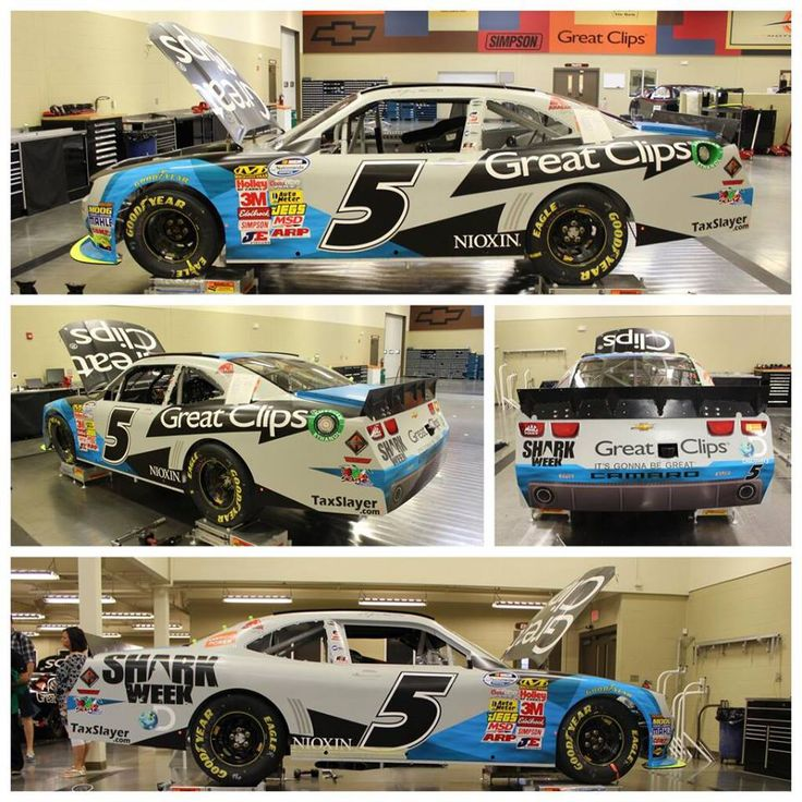 Kasey Kahne 5 Shark Week Great Clips Car Nascar