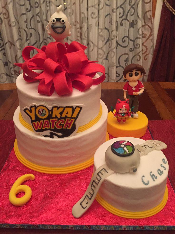 YoKai Watch birthday cake Yo Kai birthday ideas