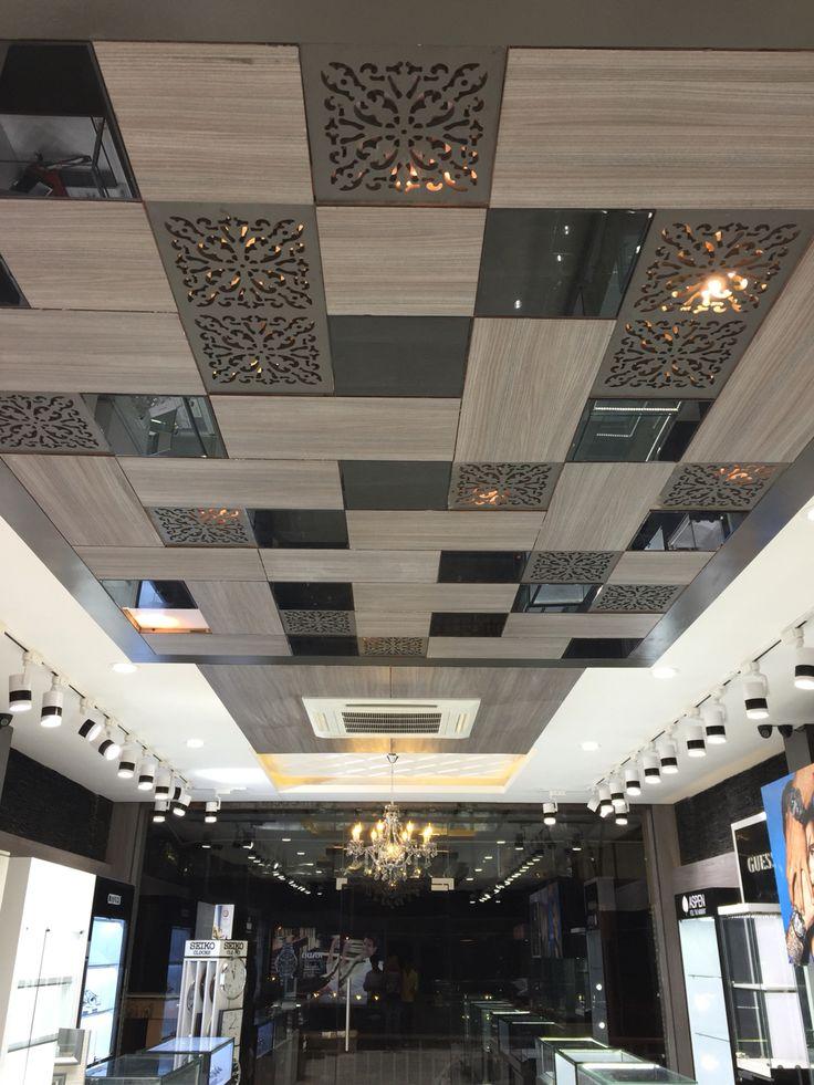 Showroom Fall Ceiling Designs