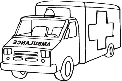 ambulance cars and coloring pages on pinterest