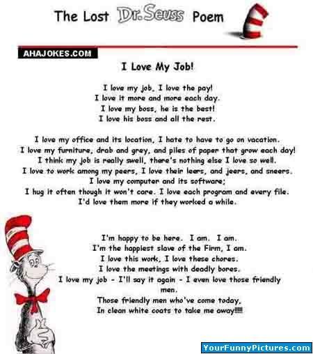 Dr Suess Poem The Lost Dr Seuss Poem Dr Suess