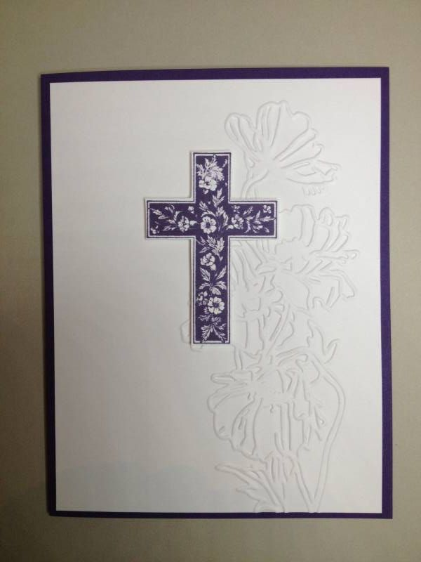 17 Best Images About Stampin Up Crosses Of Hope On