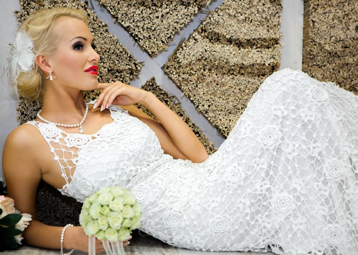 1000+ Images About Crochet Wedding Dresses On Pinterest