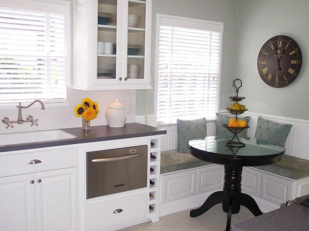 For small kitchens – several great ideas to make the most of limited kitchen space.