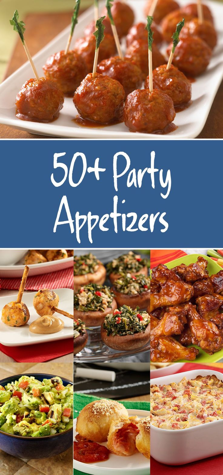 Get all the party appetizers you'll need this fall with