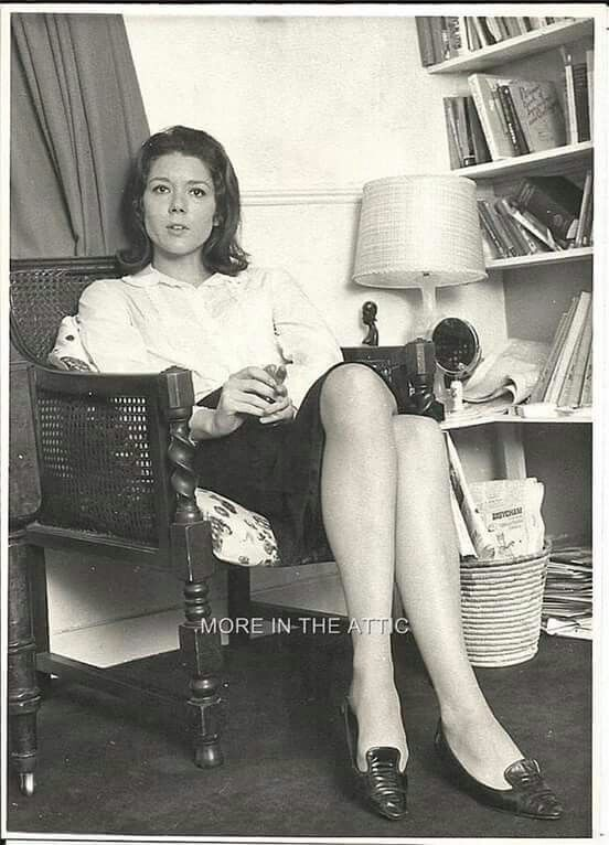 674 Best Images About People DIANA RIGG On Pinterest