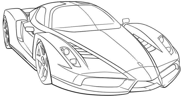 coloring pages ferrari sports high speed speed colors cars colors