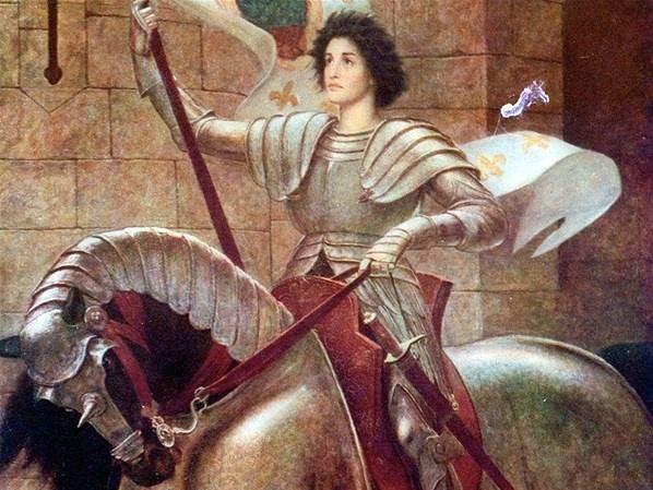 1412 1431 French heroine and Roman Catholic saint Joan