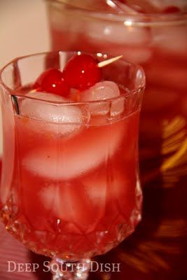 "Sour Cherry Lemonade – This sounds so good, especially if you add a little something to make it ""adult"" friendly!!"
