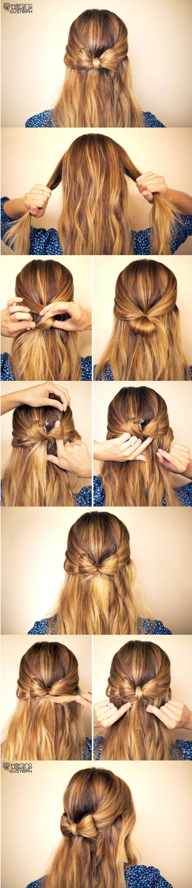 15 Cute hairstyles: Step-by-Step Hairstyles for Long Hair | PoPular