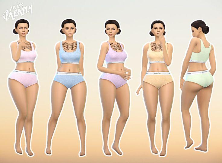 17 Best Images About Sims 4 Underwear Sleepwear On