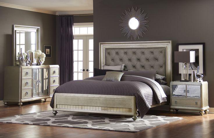 Platinum Platform Bedroom Set Furniture Bedroom Pinterest Furniture Bedroom Furniture And