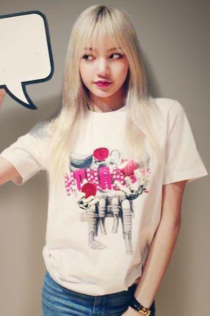 Lisa Black Pink Kpop Applejack