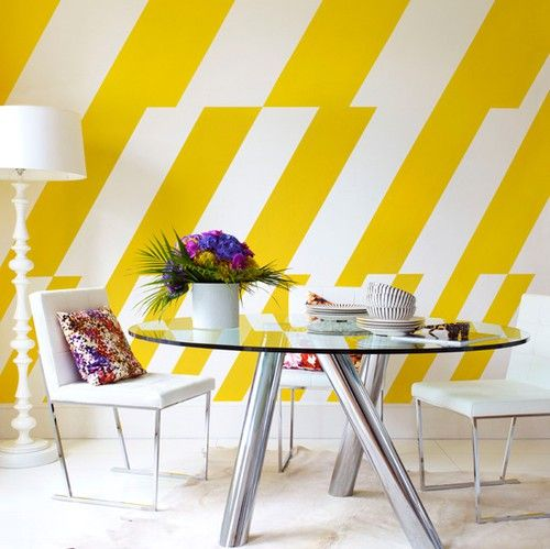 25 Best Ideas About Stripe Walls On Pinterest Grey
