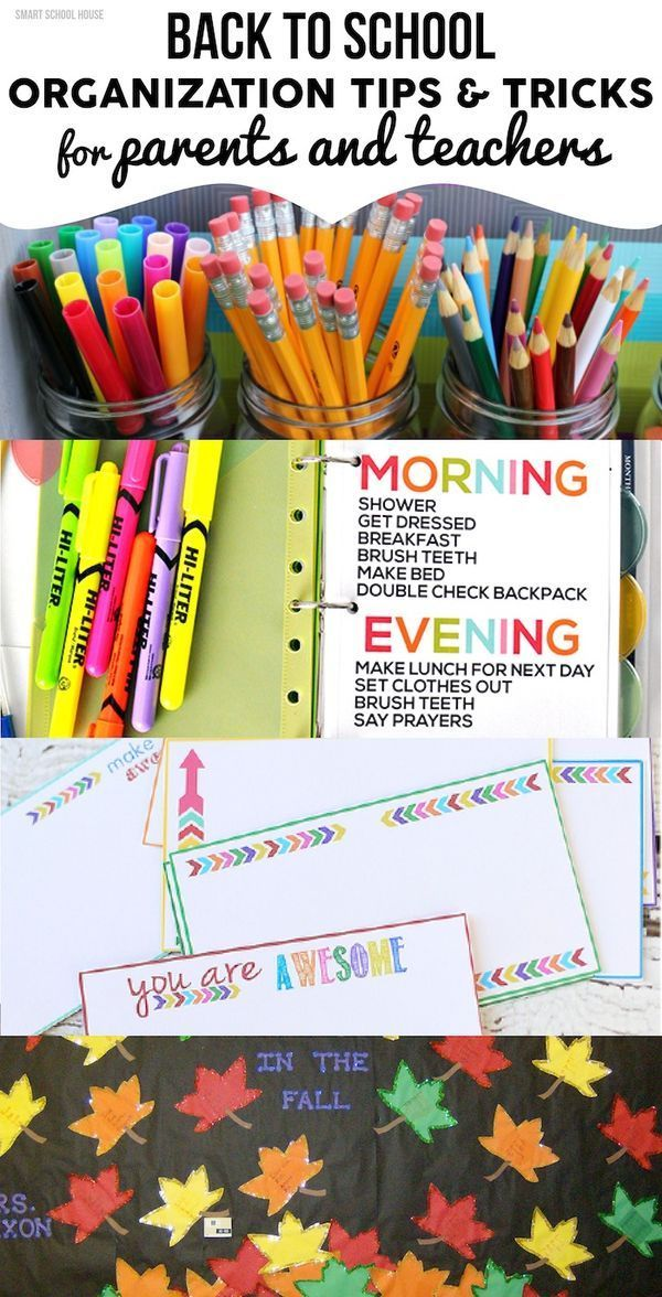 Back to School Organization Tips and Tricks for Parents
