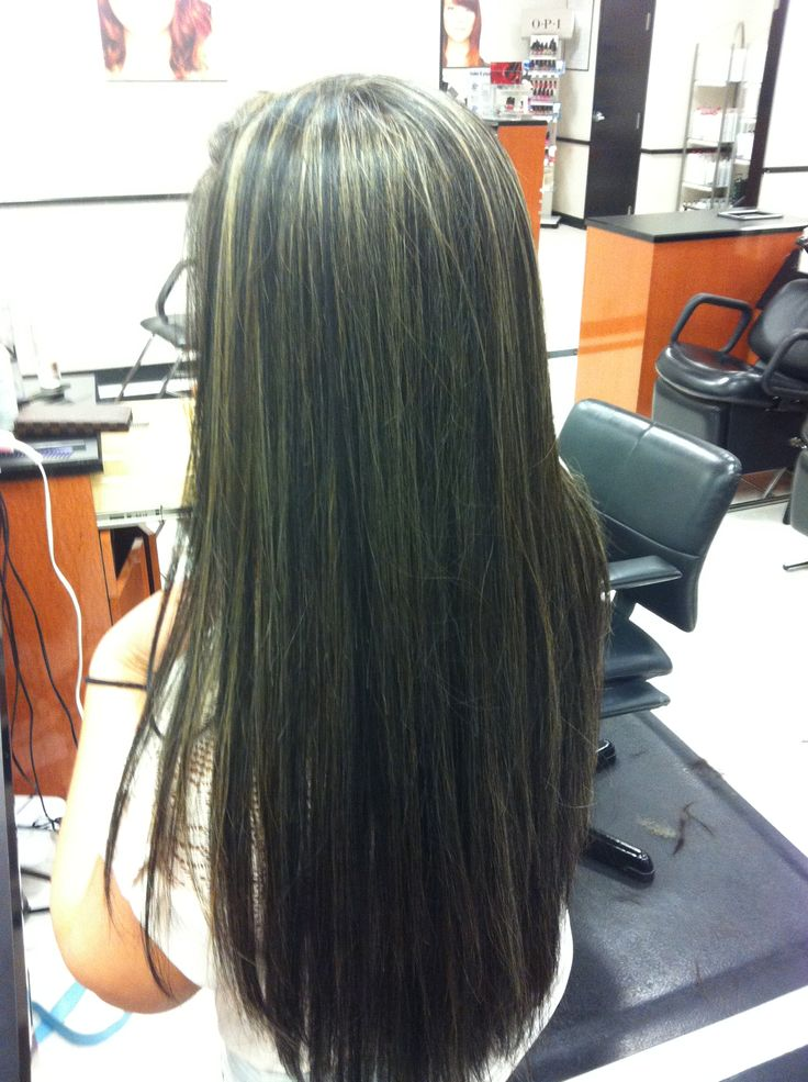 Full Head Highlight Base Color Back To Natural Hair By