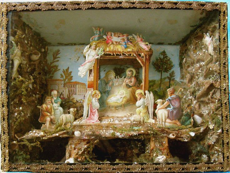 1000 Images About Vintage Christmas Nativity Sets On