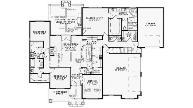 Best Floor Plan Ever, 3 Bed 2 Bath - Floor Plan