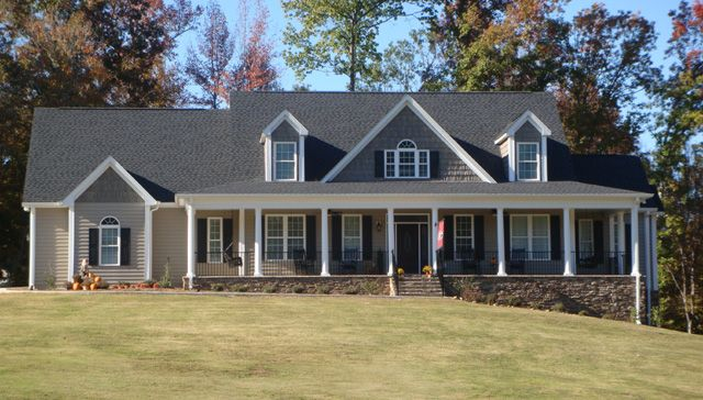 One Story Brick House Plans With Wrap Around Porch And Tin