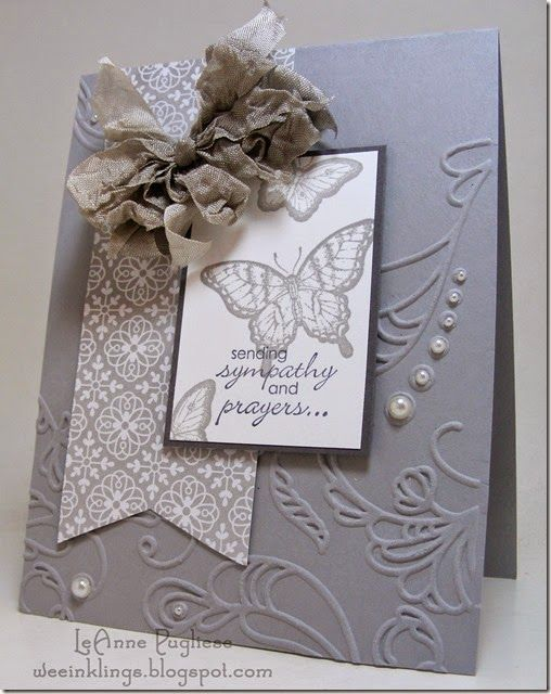 1000 Ideas About Handmade Sympathy Cards On Pinterest