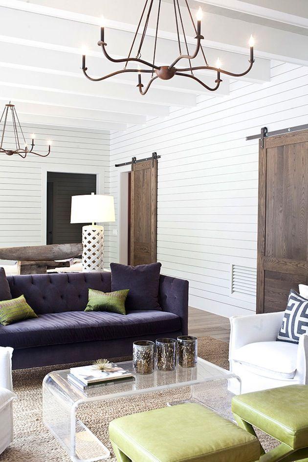 Classic & modern farmhouse living room   Stunning Living ...