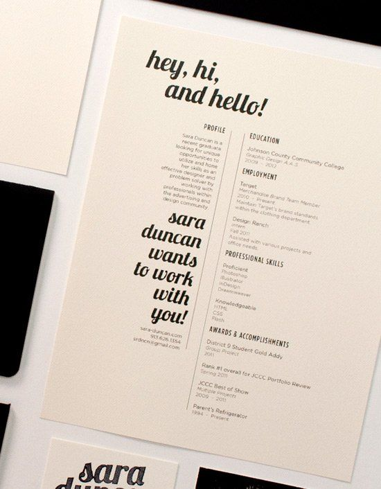 50 Resume Designs That Help You Get Dream Job