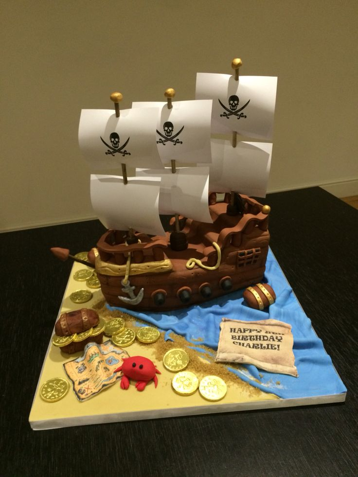 Pirate Ship Cake By Victoria Defty Couture Cakes Cake