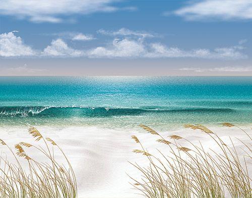 25+ Best Ideas About Beach Mural On Pinterest