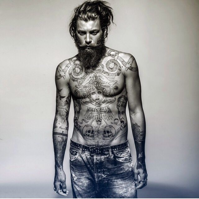 Tattoo , tattoos , ink , sleevetattoo , tattoomodel , andrea marcaccini