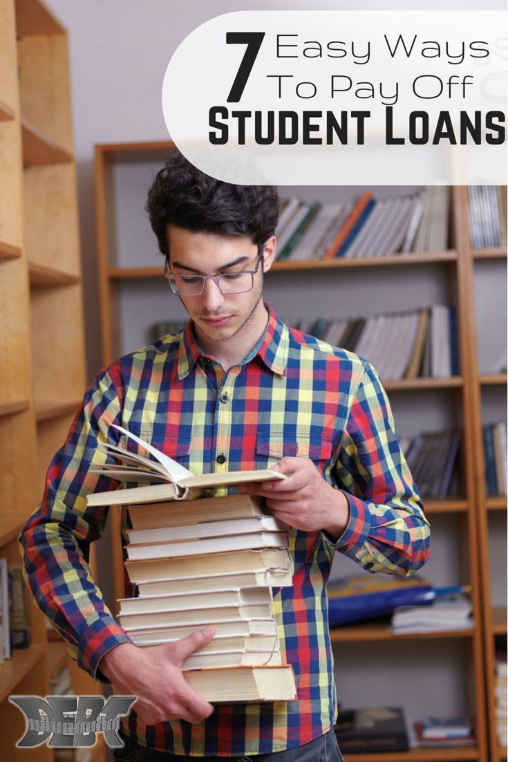 7 Interesting Ways To Pay Down Your Student Loan Debt Financial Tips A Well And Student Loans