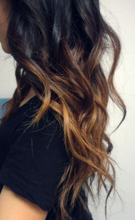 cute ombre. this is the ombre that id do.. super subtle