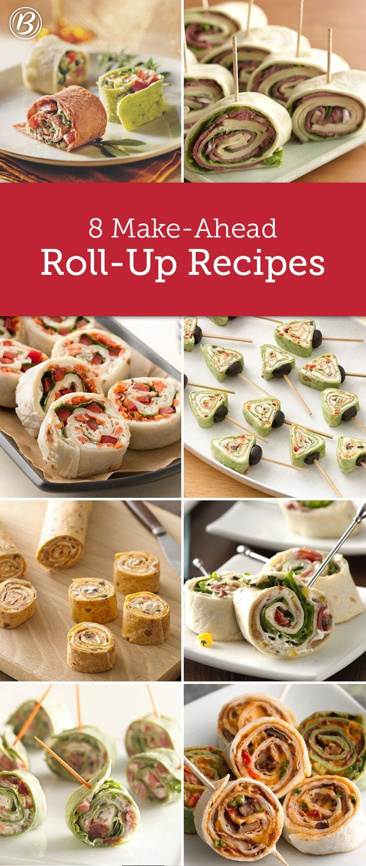 8 Easy RollUp Recipes Easy recipes, Nice and Costco