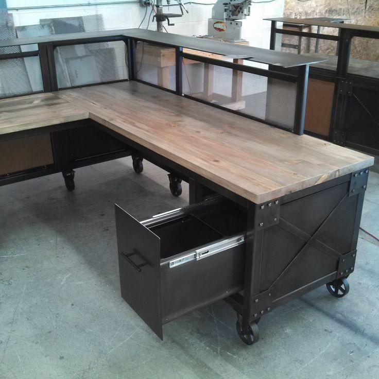 1000 Ideas About L Shaped Desk On Pinterest Shape Desks And