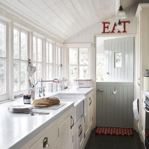 Kitchen Window Looks Sinks Twin