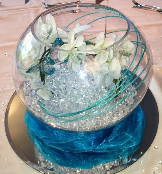 25 Best Ideas About Fish Bowl Centerpieces On Pinterest