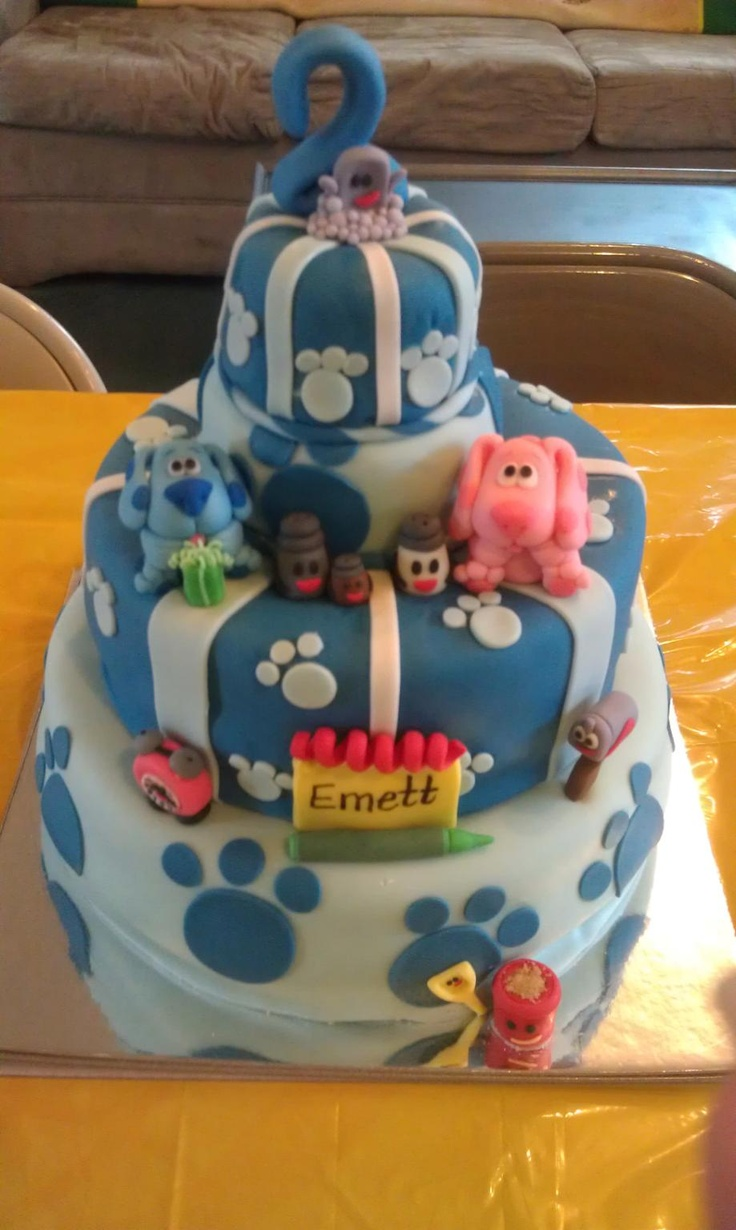 17 Best Images About Blue S Clues Birthday Party Ideas