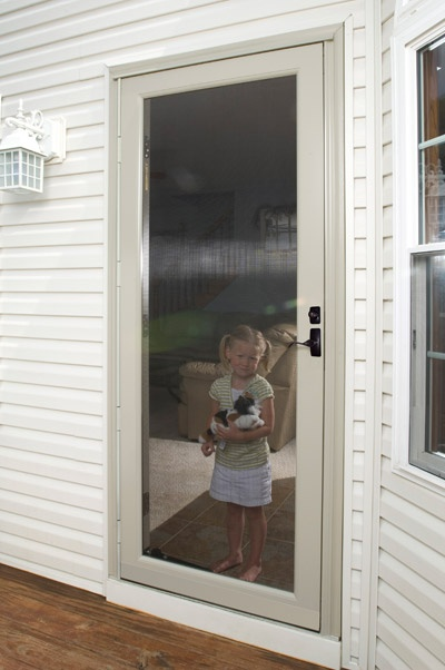 DuraGuard Storm Doors By ProVia Feature Tough Non