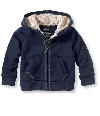 ll bean fleece lined camp hoodie