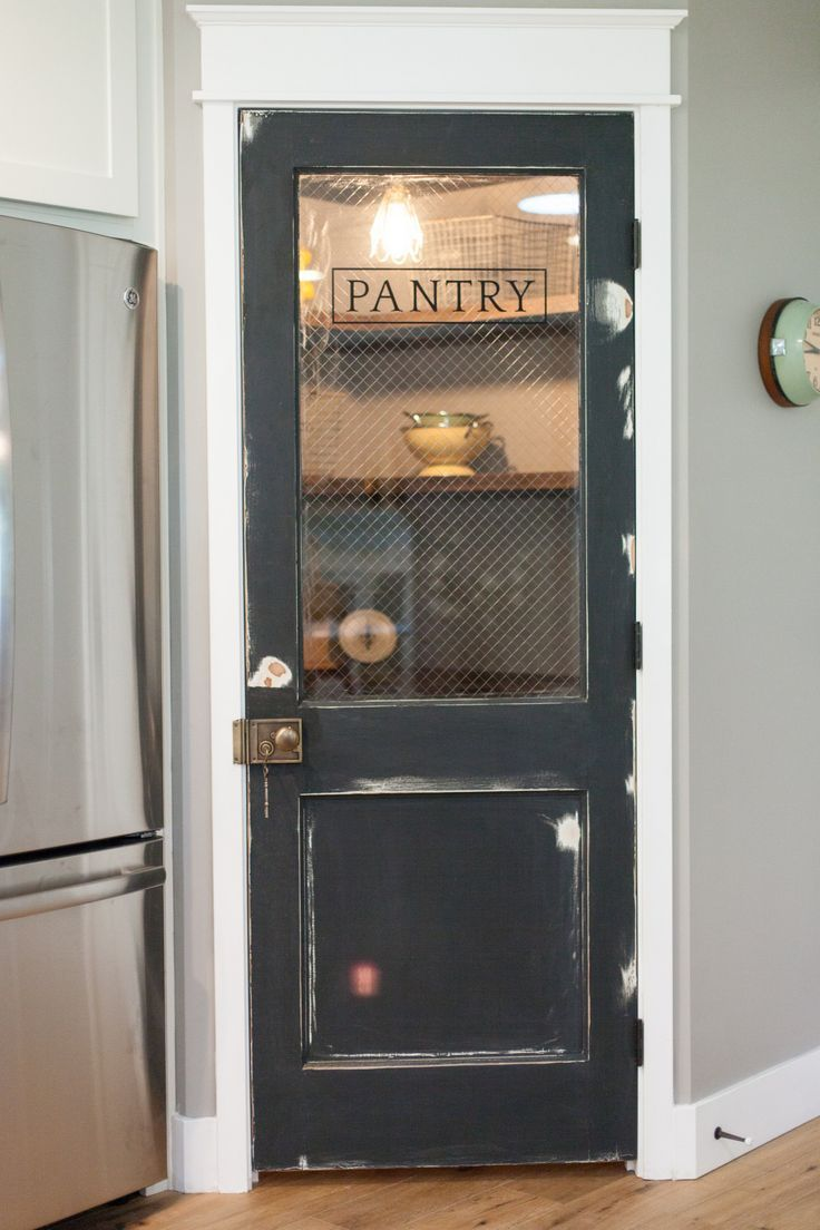 Antique Door Pantry Closet Doesnt Look Too Spacious But Would Like To See A Split Door For